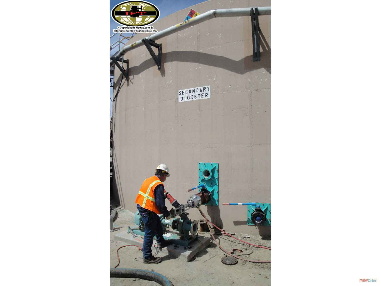 Walltaps Com Tank Vessel Or Wall Hot Tapping Services