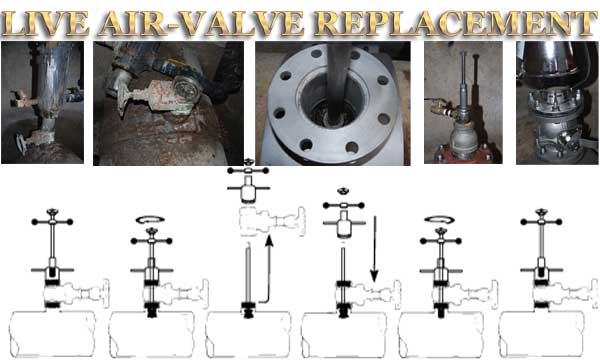 Live Air Valve Replacement Services